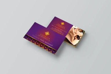นามบัตร Tharita Thai Massage