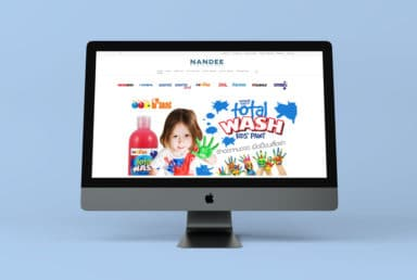Nandee Stationery Website
