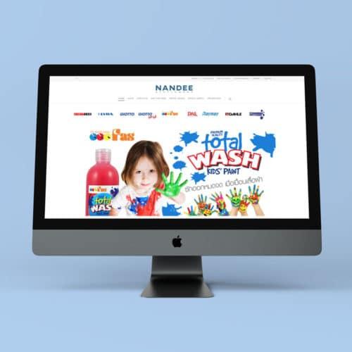Nandee Stationery Website