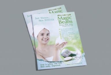 โบรชัวร์ผลิตภัณฑ์ Magic Beans