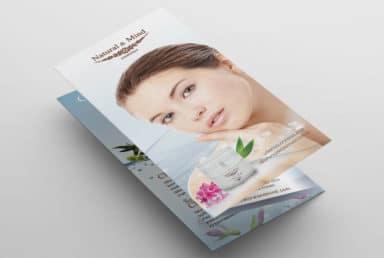 โบรชัวร์ Natural & Mind Cosmetics