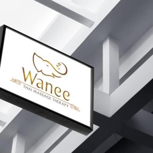 โลโก้ Wanee Thai Massage