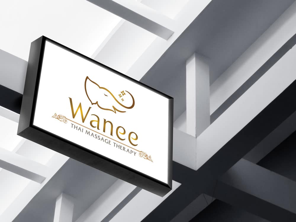 โลโก้ Wanee Thai Massage
