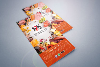 โบรชัวร์บริษัท S2K Foods