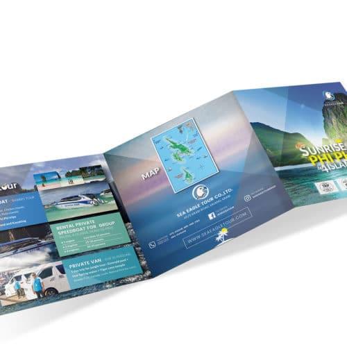 โบรชัวร์ท่องเที่ยว Sea Eagle Tour – Sunrise Phi Phi & 4 Islands