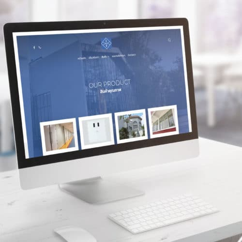 ออกแบบเว็บไซต์บริษัท IT Window