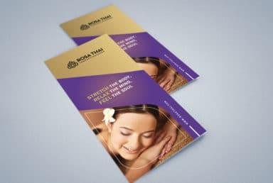 โบรชัวร์ Rosa Thai Therapy Massage