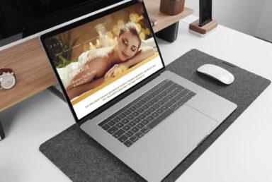 Angelique Thai Massage & Beauty Spa Web Design